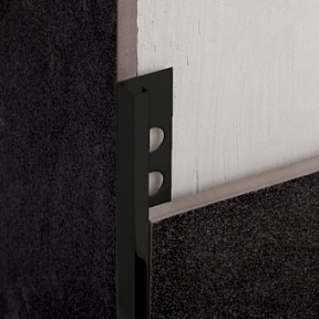 Профиль Juliano Tile Trim SBP024-4S-12H Black